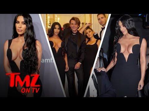 Kim K Takes Her Own Paparazzi Around  TMZ TV