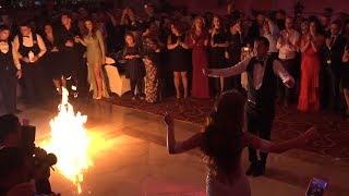 Dasma madheshtore Milot Nuraj & Alba Hoti (Vallezimi me zjarre)