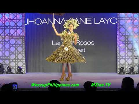 Miss Teen Earth 2014 Gala Night Recycled Materials National Costume Competition Part 1
