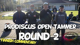 lcgm8 Disc Golf - Prodiscus open Tammer 2019 Round 2 (Finnish commentary)
