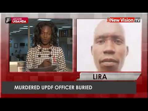 Murdered UPDF officer buried