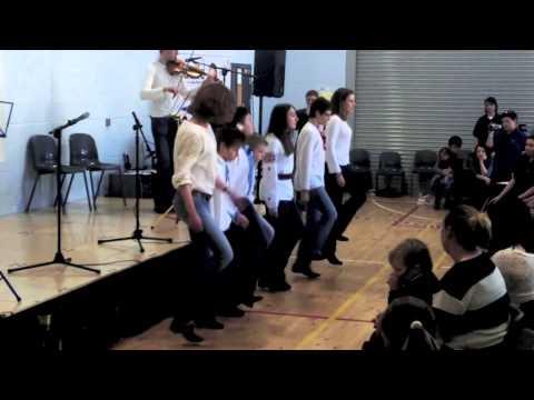 Gergel School at Feis Latharna. Scottish and Ukrainian Step Dancing