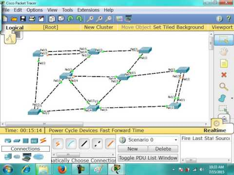 STP Practical + Manipulation & Port Security