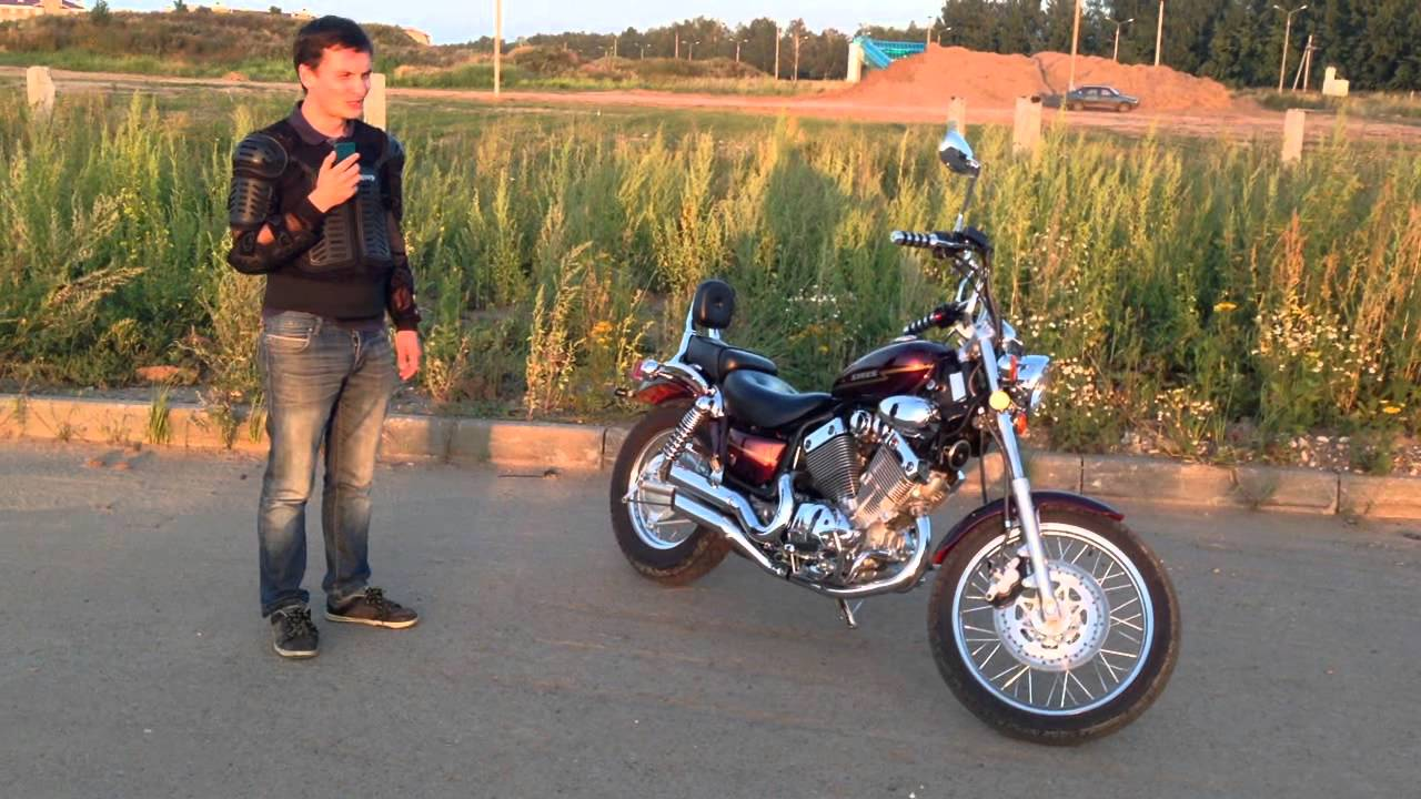 Мотоцикл Десна 220 фантом из коробки серия8 - YouTube