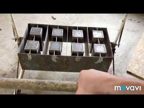 Своими руками станок для изготовления шлакоблоков