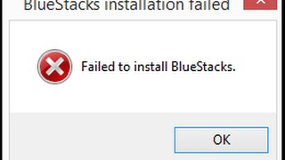 Failed to install Bluestacks error fix 2016 !!!