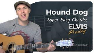 Guitar Lesson Tutorial: Hound Dog - Elvis More Info: http://www.jus...