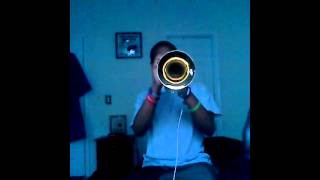 """Can You Feel It"" (Intro) on Trumpet"