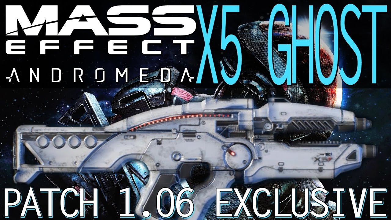 Mass Effect Andromeda X5 Ghost: X5 GHOST TEST & ANALYSIS ADDED IN PATCH 1.06 OF MASS