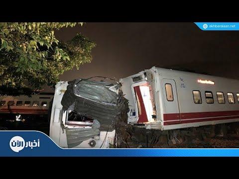 17 قتيلا في حادث انقلاب قطار في تايوان  - نشر قبل 21 دقيقة