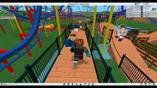 roblox theme park tycoon comme back part 1