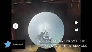 Erstellen Sie ein AR-Schneekugel-tutorial