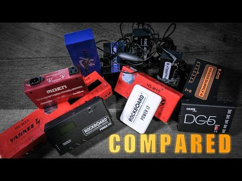 Power Supply Shootout - What does a Power Supply SOUND LIKE?
