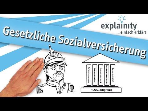 Gesetzliche Sozialversicherung einfach