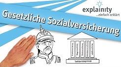 Gesetzliche Sozialversicherung einfach erklärt (explainity® Erklärvideo)
