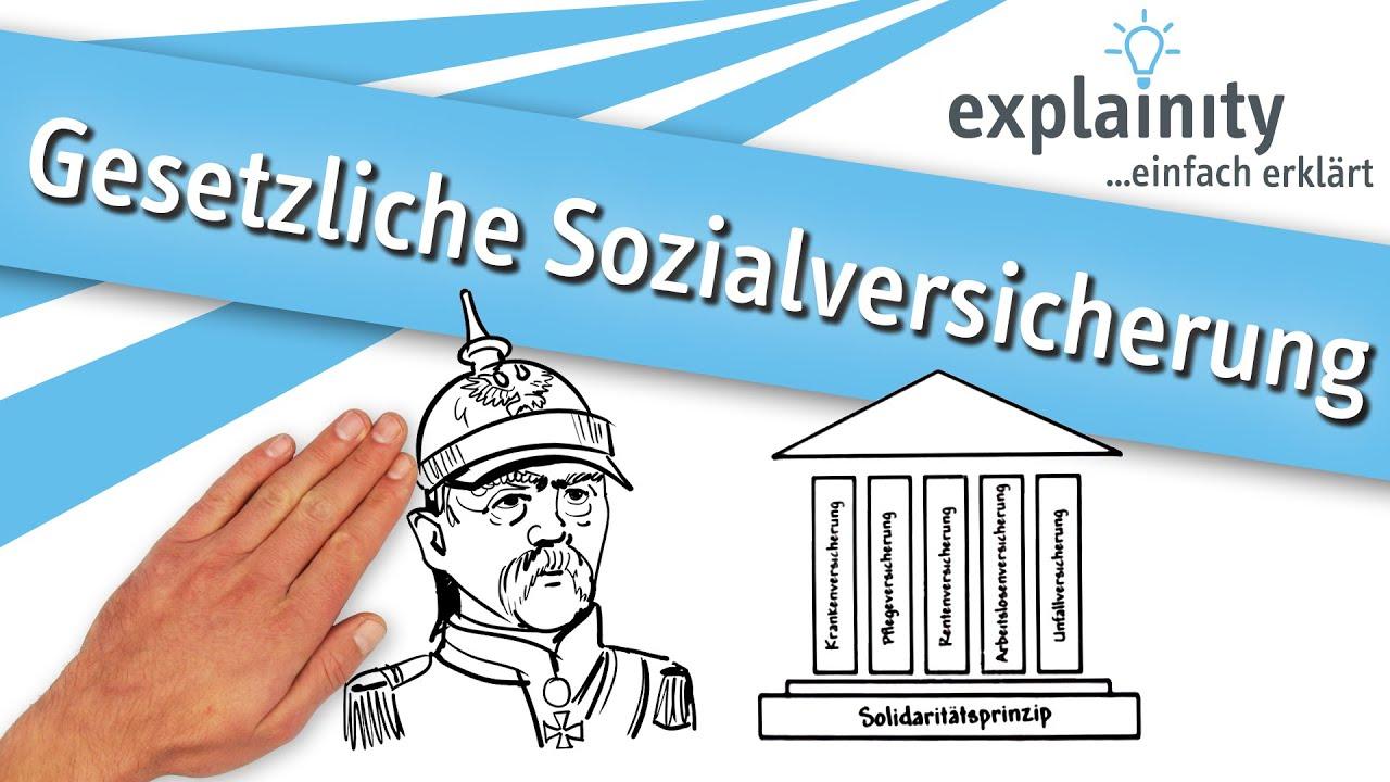 Gesetzliche Sozialversicherung einfach erklärt (explainity ...