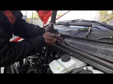 Демонтаж форсунки на Mercedes Vito 639