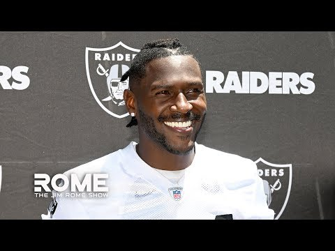 The Raiders Shouldn't Be Surprised About Antonio Brown's Helmet Antics   The Jim Rome Show