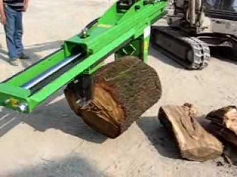 Log Splitter For Excavators Hsp1 25 Tons Wmv Doovi