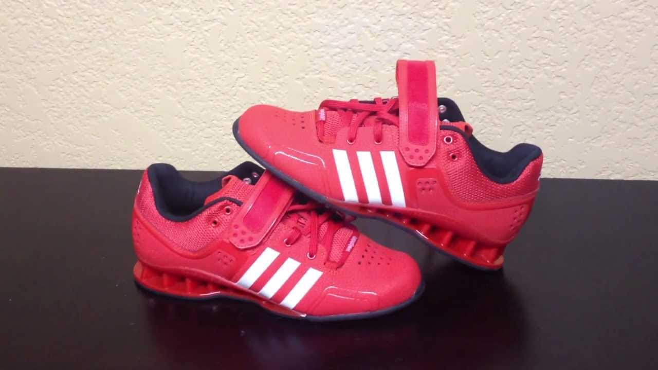 caec94877315 Adidas Adipower Oly Shoe Review - YouTube