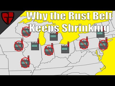 Why the Rust Belt Keeps Shrinking