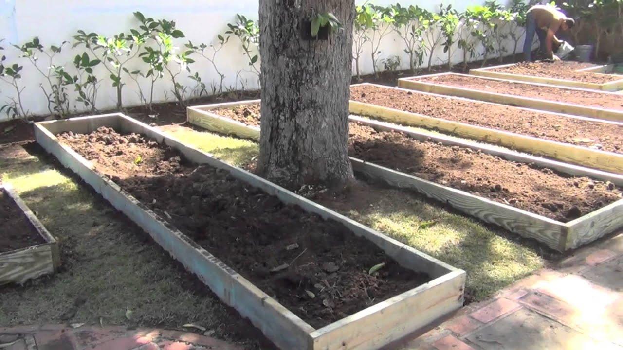 La fortaleza tendr huerto casero youtube - Huerto en la terraza ...