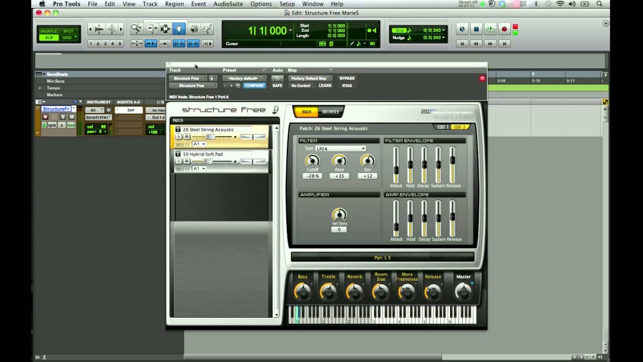 structure free pro tools tutorial youtube