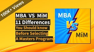 Mba Vs Masters In Management Differences That Matter