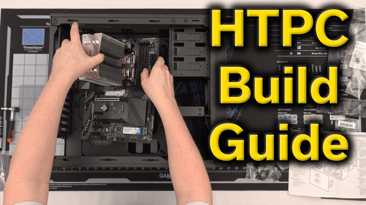 Connecting Your Media Center Computer Build A Home Theater Pc Manual Guide