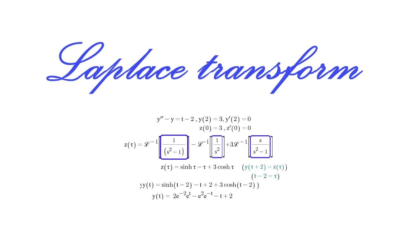 라플라스 변환 쉽게 배우기 [14편] : '초기조건에서 t가 0이 아닐 때' 풀이법