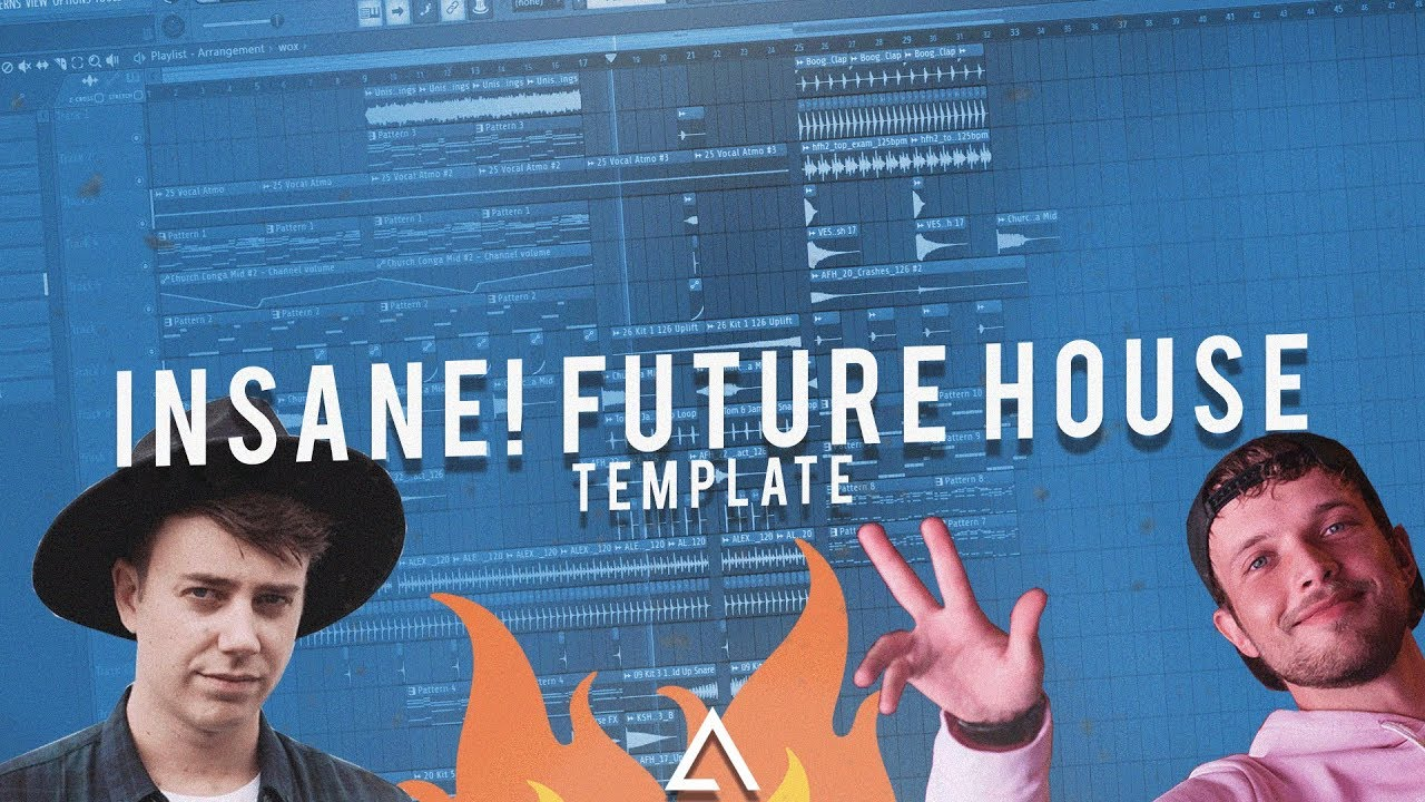 [TEMPLATE] INSANE! Future House Drop [FL Studio FREE FLP]