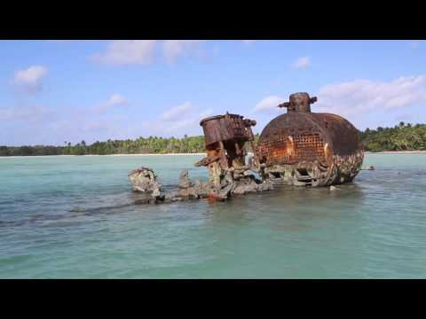 Tuvalu Funafuti conservation area  Navigation lagoon / Tuvalu Funafuti Lagoon
