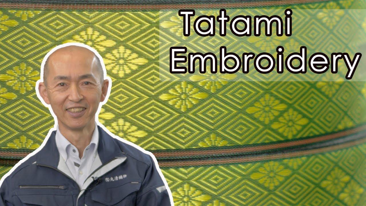 Tatami Embroidery Makers: Kurashiki Ribbon 倉敷リボン