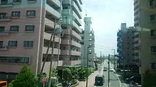 《GSE車窓》小田急線 特急ロマンスカーはこね23号 町田~小田原