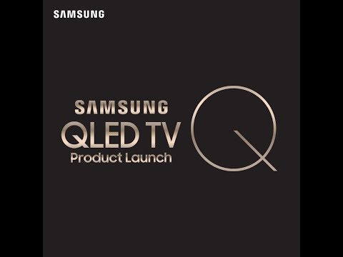 Samsung QLED TV Product Launch Invitation