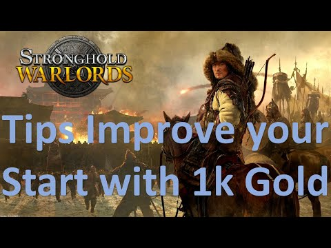 Stronghold Warlords Tips (Get a great start with 1k gold) |
