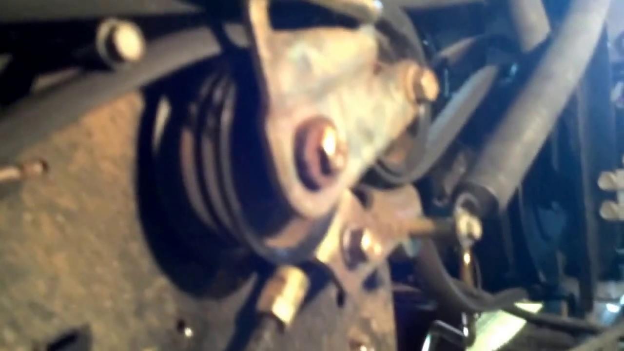 Fix a slipping troy bilt variable speed belt  YouTube