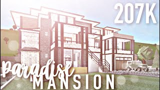 Roblox | Bloxburg | Paradise Mansion