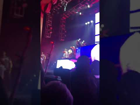 Mgk playing drums. Shout at the Devil Hotel Diablo Tour image