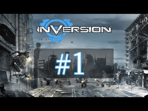 Inversion Walkthrough / Gameplay Part 1 - Gone to Hell
