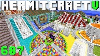 Hermitcraft V 687 Jump N Dash With Rendog!
