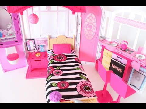 BARBIE DOLL HOUSE UNBOXING|| DOLL SWEET HOME || Tia Tia