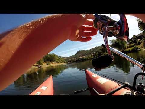 Late Summer Smallmouth Bass Fishing (S. Umpqua River)