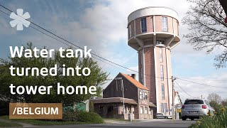 From old Belgian water tank to dream tower house with a view