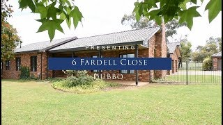 For Sale - 6 Fardell Close Dubbo - $450,000 - $470,000