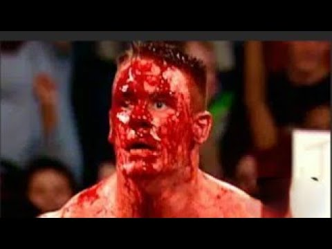 Download JOHN CENA VS BROCK LESNAR EXTREME RULES MATCH JOHN CENA BLOOD MATCH