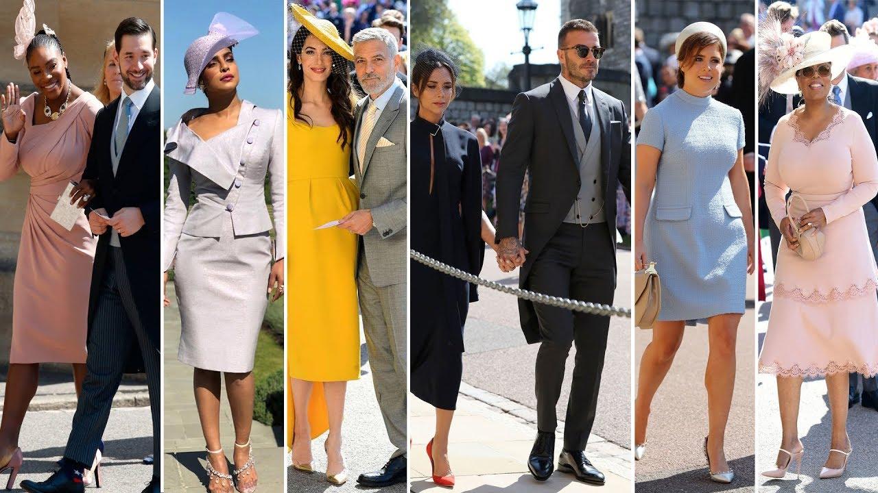 92cb6249bcece Royal Wedding 2018 ▻ Celebrity Arrivals