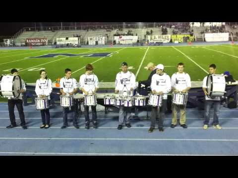 John Bapst Memorial High School Drumline 2012