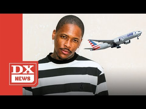 YG Reportedly Drunk According To American Airlines And Gets Kicked Off His Flight