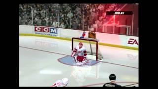 NHL 2005 (PLAYSTATION 2) Detroit vs Pittsburg
